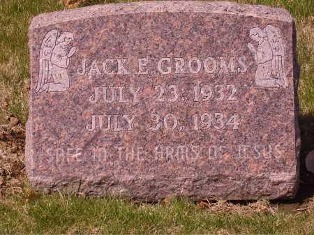 GROOMS, JACK E. - Franklin County, Ohio | JACK E. GROOMS - Ohio Gravestone Photos