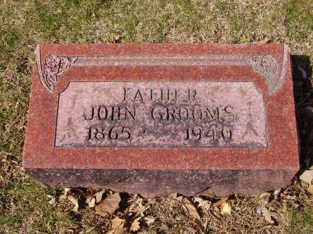 GROOMS, JOHN - Franklin County, Ohio | JOHN GROOMS - Ohio Gravestone Photos