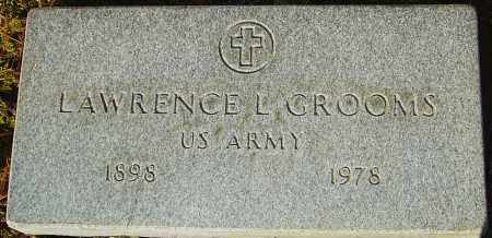 GROOMS, LAWRENCE L - Franklin County, Ohio | LAWRENCE L GROOMS - Ohio Gravestone Photos