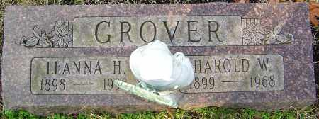 HOLMES GROVER, LEANNA - Franklin County, Ohio | LEANNA HOLMES GROVER - Ohio Gravestone Photos