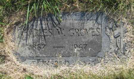 GROVES, CHARLES WILLIAM - Franklin County, Ohio | CHARLES WILLIAM GROVES - Ohio Gravestone Photos
