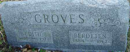 GROVES, EDITH - Franklin County, Ohio | EDITH GROVES - Ohio Gravestone Photos