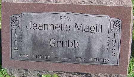 GRUBB, JEANNETTE - Franklin County, Ohio | JEANNETTE GRUBB - Ohio Gravestone Photos