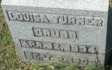GRUBB, LOUISA - Franklin County, Ohio | LOUISA GRUBB - Ohio Gravestone Photos