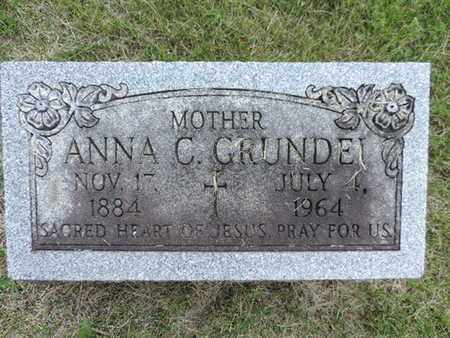 GRUNDEI, ANNA C. - Franklin County, Ohio | ANNA C. GRUNDEI - Ohio Gravestone Photos