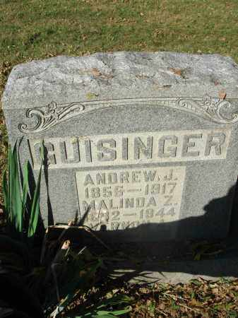 GUISINGER, ANDREW J. - Franklin County, Ohio | ANDREW J. GUISINGER - Ohio Gravestone Photos