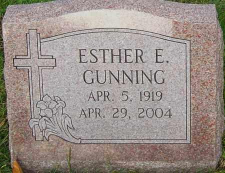 GUNNING, ESTHER - Franklin County, Ohio | ESTHER GUNNING - Ohio Gravestone Photos