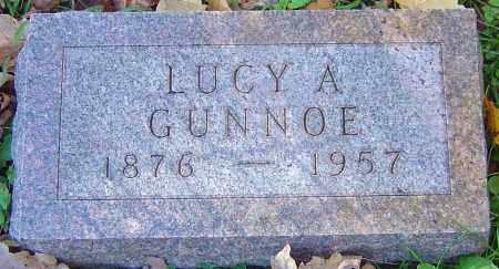GUNNOE, LUCY ANN - Franklin County, Ohio   LUCY ANN GUNNOE - Ohio Gravestone Photos