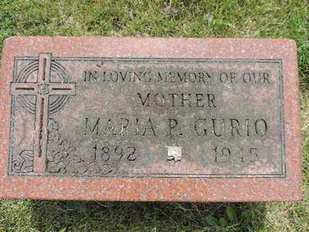 GURIO, MARIA P. - Franklin County, Ohio   MARIA P. GURIO - Ohio Gravestone Photos