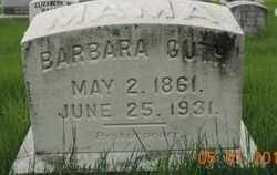 GUTH, BARBARA - Franklin County, Ohio | BARBARA GUTH - Ohio Gravestone Photos