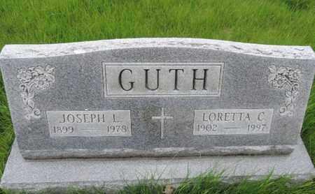 GUTH, LORETTA C - Franklin County, Ohio   LORETTA C GUTH - Ohio Gravestone Photos