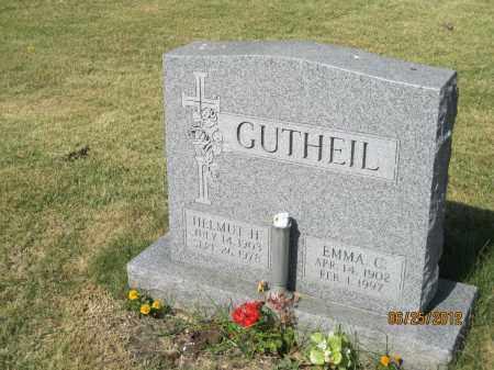 GUTHEIL, EMMA CLARA - Franklin County, Ohio | EMMA CLARA GUTHEIL - Ohio Gravestone Photos
