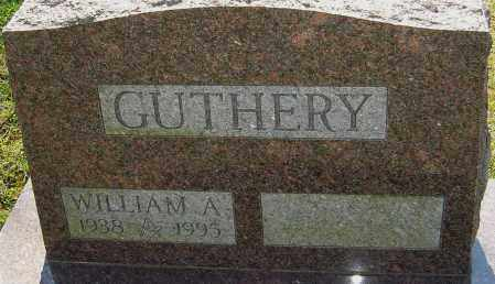 GUTHERY, WILLIAM A - Franklin County, Ohio | WILLIAM A GUTHERY - Ohio Gravestone Photos