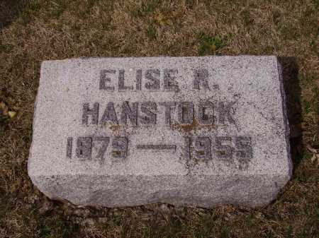 HABSTOCK, ELISE R. - Franklin County, Ohio   ELISE R. HABSTOCK - Ohio Gravestone Photos