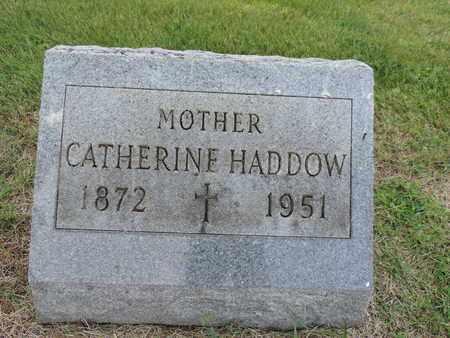 HADDOW, CATHERINE - Franklin County, Ohio | CATHERINE HADDOW - Ohio Gravestone Photos