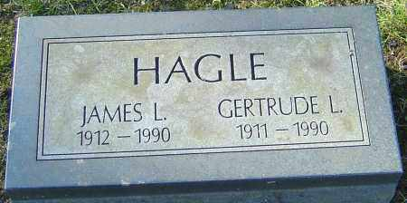 JONES HAGLE, GERTRUDE L - Franklin County, Ohio | GERTRUDE L JONES HAGLE - Ohio Gravestone Photos