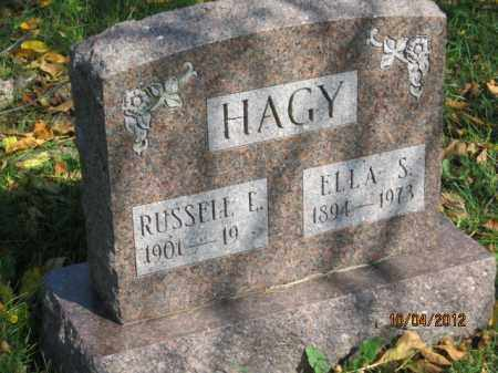 HAGY, RUSSELL LEE - Franklin County, Ohio | RUSSELL LEE HAGY - Ohio Gravestone Photos