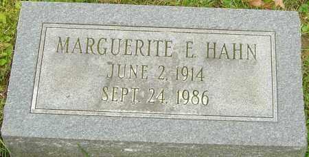 PLUNKETT HAHN, MARGUERITE - Franklin County, Ohio | MARGUERITE PLUNKETT HAHN - Ohio Gravestone Photos