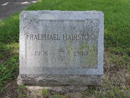 HAIRSTON, RAEPHAEL - Franklin County, Ohio | RAEPHAEL HAIRSTON - Ohio Gravestone Photos