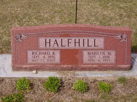 HOVER HALFILL, MARILYN M. - Franklin County, Ohio | MARILYN M. HOVER HALFILL - Ohio Gravestone Photos