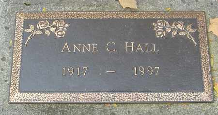 BISER HALL, ANNE C - Franklin County, Ohio | ANNE C BISER HALL - Ohio Gravestone Photos