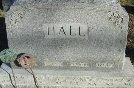 HALL, EDMOND - Franklin County, Ohio | EDMOND HALL - Ohio Gravestone Photos