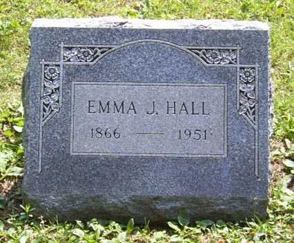 HALL, EMMA JANE - Franklin County, Ohio | EMMA JANE HALL - Ohio Gravestone Photos