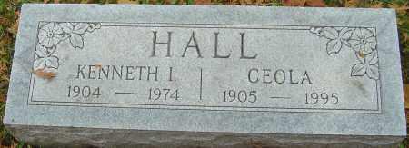 HALL, CEOLA - Franklin County, Ohio | CEOLA HALL - Ohio Gravestone Photos
