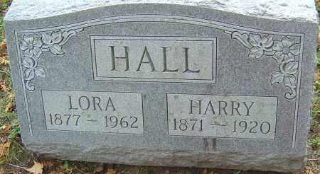 HALL, HARRY - Franklin County, Ohio | HARRY HALL - Ohio Gravestone Photos