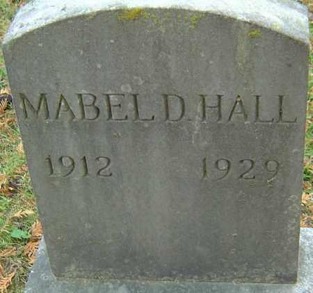 HALL, MABEL D - Franklin County, Ohio | MABEL D HALL - Ohio Gravestone Photos
