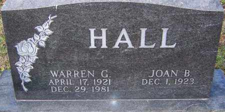 HALL, WARREN - Franklin County, Ohio   WARREN HALL - Ohio Gravestone Photos