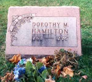PINKERTON HAMILTON, DOROTHY MAE - Franklin County, Ohio | DOROTHY MAE PINKERTON HAMILTON - Ohio Gravestone Photos