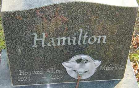 HAMILTON, HOWARD - Franklin County, Ohio | HOWARD HAMILTON - Ohio Gravestone Photos