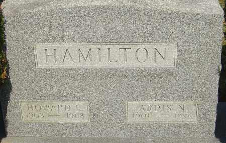 HAMILTON, ARDIS N - Franklin County, Ohio | ARDIS N HAMILTON - Ohio Gravestone Photos