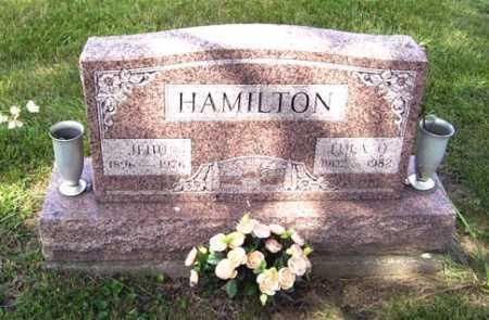 HILL HAMILTON, LULA OAKES - Franklin County, Ohio | LULA OAKES HILL HAMILTON - Ohio Gravestone Photos