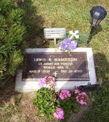 HAMILTON, LEWIS REGINALD - Franklin County, Ohio | LEWIS REGINALD HAMILTON - Ohio Gravestone Photos