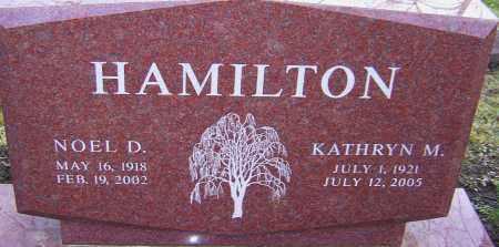HAMILTON, NOEL - Franklin County, Ohio   NOEL HAMILTON - Ohio Gravestone Photos