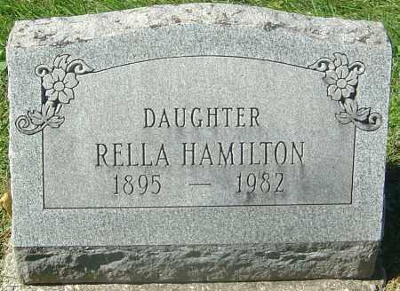 HAMILTON, RELLA - Franklin County, Ohio | RELLA HAMILTON - Ohio Gravestone Photos