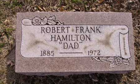 HAMILTON, ROBERT FRANK - Franklin County, Ohio | ROBERT FRANK HAMILTON - Ohio Gravestone Photos