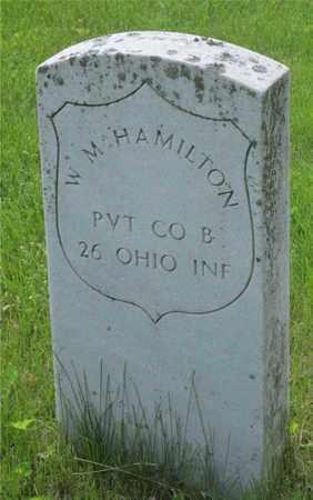 HAMILTON, W. M. - Franklin County, Ohio   W. M. HAMILTON - Ohio Gravestone Photos