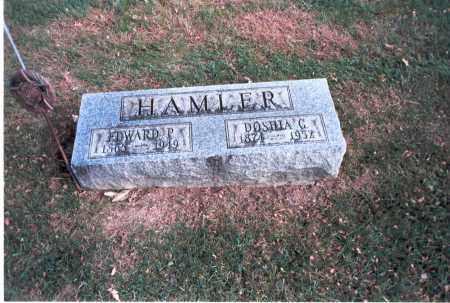HAMLER, EDWARD P. - Franklin County, Ohio   EDWARD P. HAMLER - Ohio Gravestone Photos