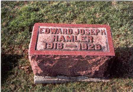 HAMLER, EDWARD JOSEPH - Franklin County, Ohio | EDWARD JOSEPH HAMLER - Ohio Gravestone Photos