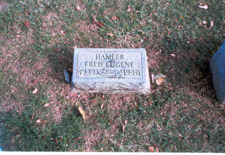 HAMLER, FRED EUGENE - Franklin County, Ohio | FRED EUGENE HAMLER - Ohio Gravestone Photos