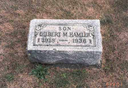 HAMLER, GILBERT M. - Franklin County, Ohio | GILBERT M. HAMLER - Ohio Gravestone Photos