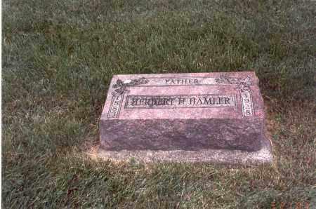 HAMLER, HERBERT H. - Franklin County, Ohio   HERBERT H. HAMLER - Ohio Gravestone Photos