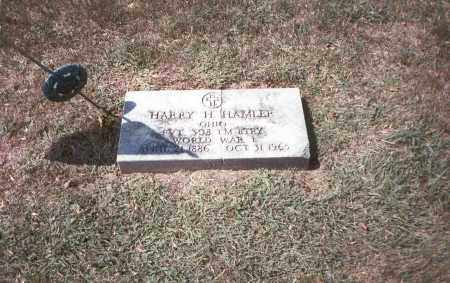 HAMLER, HARRY H. - Franklin County, Ohio | HARRY H. HAMLER - Ohio Gravestone Photos
