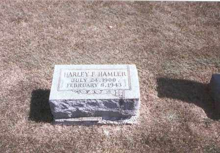 HAMLER, HARLEY F. - Franklin County, Ohio | HARLEY F. HAMLER - Ohio Gravestone Photos