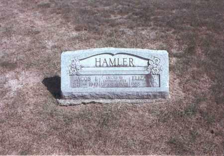 HAMLER, JACOB L. - Franklin County, Ohio | JACOB L. HAMLER - Ohio Gravestone Photos