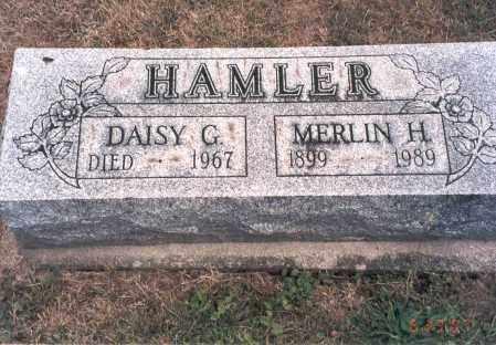 HAMLER, MERLIN H. - Franklin County, Ohio | MERLIN H. HAMLER - Ohio Gravestone Photos