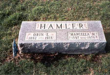 HAMLER, ORIN E. - Franklin County, Ohio | ORIN E. HAMLER - Ohio Gravestone Photos